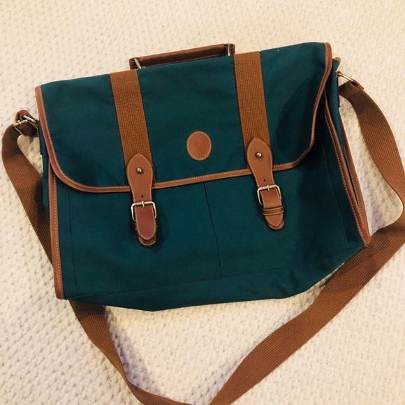 0945f9b6cdb Polo by Ralph Lauren Bags | Vintage Polo Messenger Bag | Poshmark